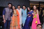 Mohit Malik, Vahbiz Dorabjee, Ganesh Hegde, Vivian D_sena,Aditi Shirwaikar and Sunayna Hegde at Ganesh Hegde_s birthday Bash on 13th Nov 2015_56480b14217f7.JPG
