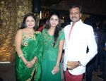 Jewellery Desiger Nitin gupta with family at Cancer Society of Hope fashion show in Delhi on 15th Nov 2015