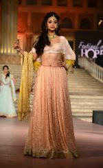 Mira Muzaffer Ali Show at Cancer Society of Hope fashion show in Delhi on 15th Nov 2015