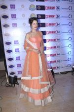 Yuvika Chaudhary walk the ramp for Manali Jagtap Show on 15th Nov 2015
