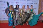 Russian actresses Alisa Grebenshchikova, Maria Lemesheva, Anna Churina, Olga Zaitseva and Saera Safari at the Russian Film Days inauguration at Osianama in Liberty Cinema