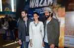 Neil Mukesh, Aditi Rao Hydari, Farhan Akhtar at Wazir trailor launch on 17th Nov 2015