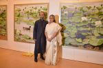 Jaya Bachchan at art exhibition launch with Bindu Kapoor of Yes Bank on 18th Nov 2015