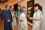 Jaya Bachchan, Shaina NC, Poonam Dhillon  at art exhibition launch with Bindu Kapoor of Yes Bank on 18th Nov 2015