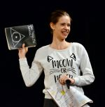 Kalki Koechlin at Centre stage opening on 18th Nov 2015