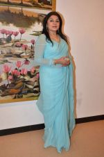 Kiran Juneja at art exhibition launch with Bindu Kapoor of Yes Bank on 18th Nov 2015