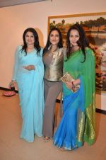 Kiran Juneja, Aarti Surendranath, Poonam Dhillon  at art exhibition launch with Bindu Kapoor of Yes Bank on 18th Nov 2015 (44)_564d8132187f7.JPG