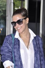 Neha Dhupia snapped at the airport on 18th Nov 2015