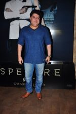 Sajid Khan at Spectre screening in Mumbai on 18th Nov 2015