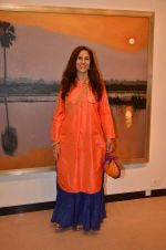 Shobhaa De at art exhibition launch with Bindu Kapoor of Yes Bank on 18th Nov 2015