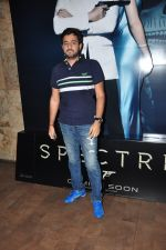 at Spectre screening in Mumbai on 18th Nov 2015