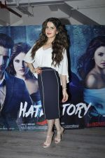 Zarine Khan at Hate Story 3 interviews on 19th Nov 2015