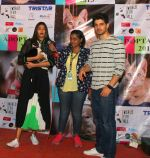 Athiya Shetty, Sooraj Pancholi at pet adoption in Juhu on 21st Nov 2015
