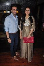 Punit Malhotra, Padmini Kolhapure snapped at Padmini_s Padmasita collection launch on 20th Nov 2015 (13)_56514af86b91f.JPG