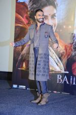 Ranveer Singh at Bajirao Mastani trailor launch on 20th Nov 2015