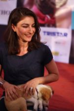 Soha ALi Khan at pet adoption in Juhu on 21st Nov 2015