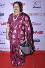 Anuradha Paudwal at the Red Carpet of _Ajeenkya DY Patil University Filmfare Awards (Marathi) 2014__5652e0383a57d.JPG