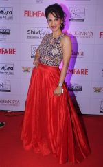 Smita Gondkar at the Red Carpet of _Ajeenkya DY Patil University Filmfare Awards (Marathi) 2014__5652e093cc6ce.JPG