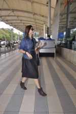 Sonam Kapoor snapped at airport on 23rd Nov 2015