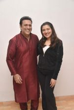 Tina Ahuja and Govinda snapped at an tv interview on fitness on 23rd Nov 2015