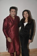 Tina Ahuja and Govinda snapped at an tv interview on fitness on 23rd Nov 2015 (16)_56540e08e6278.JPG