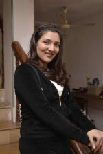 Tina Ahuja snapped at an tv interview on fitness on 23rd Nov 2015