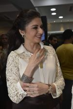 Bhagyashree at Shaheen Abbas collection launch in Gehna Store on 24th Nov 2015