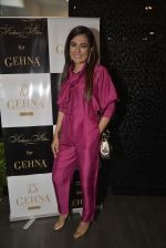 Mini Mathur at Shaheen Abbas collection launch in Gehna Store on 24th Nov 2015