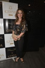 Perizaad Kolah at Shaheen Abbas collection launch in Gehna Store on 24th Nov 2015