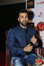 Ranbir Kapoor in Delhi to promote Tamasha on 24th Nov 2015