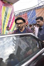 Ranveer Singh snapped at Rambo Circus as he was there for a photo shoot for a magazine on 24th Nov 2015