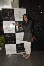 Suchitra Pillai at Shaheen Abbas collection launch in Gehna Store on 24th Nov 2015
