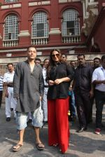 Vidya Balan on loction in Kolkata on 24th Nov 2015