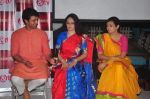 Gracy Singh, Juhi Parmar, Sachin Shroff at santosh maa serial launch on 25th Nov 2015 (9)_5656b63824bca.JPG