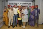 Bibi Rusell, Hemant Trivedi, Prasad Bidapa at Rajasthan Heritage week press meet on 26th Nov 2015