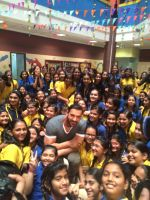 John Abraham at Billabong school in thane on 26th Nov 2015