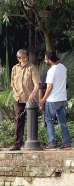 Amitabh Bachchan shoots at Kolkata on 27th Nov 2015