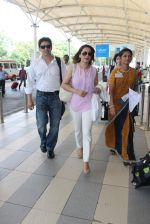 Madhuri Dixit snapped at airport on 28th Nov 2015