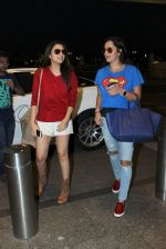 Parineeti Chopra, Sania Mirza snapped at airport on 28th Nov 2015