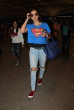 Sania Mirza snapped at airport on 28th Nov 2015