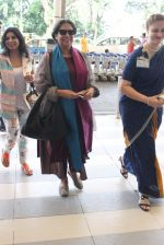 Shabana Azmi snapped at airport on 28th Nov 2015