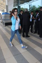 Zarine Khan snapped at airport on 28th Nov 2015
