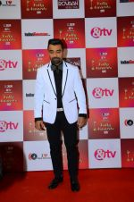 Ajaz Khan at Indian telly awards red carpet on 28th Nov 2015 (437)_565c395fb95ff.JPG