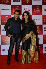 Gauri Tonk at Indian telly awards red carpet on 28th Nov 2015 (508)_565c3a644f05e.JPG