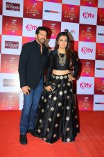 Mini Mathur, Kabir Khan at Indian telly awards red carpet on 28th Nov 2015 (667)_565c3abc5f85a.JPG