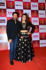 Mini Mathur, Kabir Khan at Indian telly awards red carpet on 28th Nov 2015 (670)_565c3abfa9abc.JPG