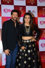 Mini Mathur, Kabir Khan at Indian telly awards red carpet on 28th Nov 2015 (674)_565c3ac1a8c30.JPG
