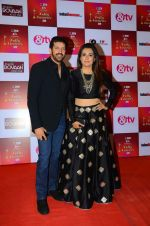 Mini Mathur, Kabir Khan at Indian telly awards red carpet on 28th Nov 2015 (675)_565c3ac2a16fc.JPG