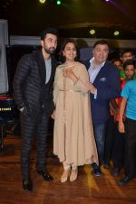 Ranbir Kapoor, Rishi Kapoor and neetu singh at ccdt ngo event on 30th Nov 2015 (108)_565d695c04cea.JPG