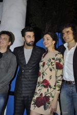 Sajid Nadiadwala, Ranbir Kapoor, Deepika Padukone, Imtiaz ALi at Tamasha success bash on 30th Nov 2015